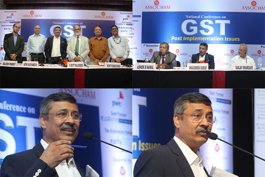 Work on GST organised by Gandhidham Chamber of Commerce